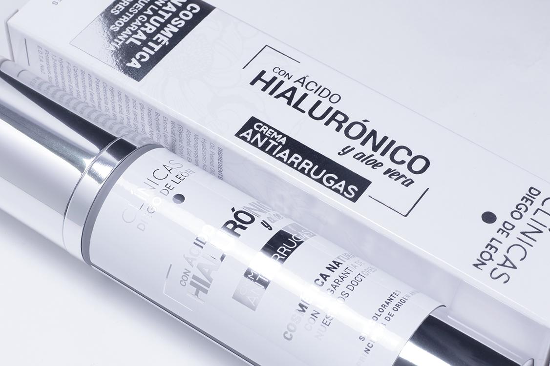 Crema Antiarrugas con Ácido Hialurónico y Aloe Vera - Clínicas Diego de León