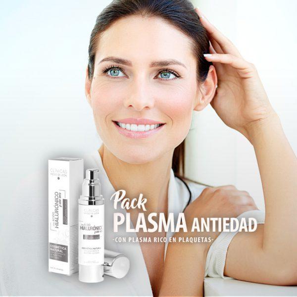 Pack Plasma Antiedad: Tratamiento Vitaminas + Crema Antiarrugas